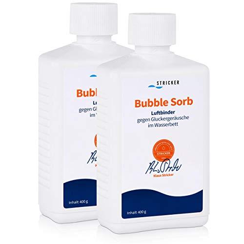 Stricker Chemie Luftbinder Bubble Sorb 400g für Wasserbetten (2er Pack)